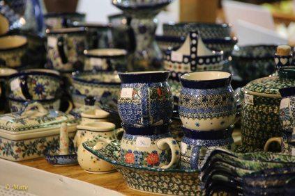 Famous polish pottery