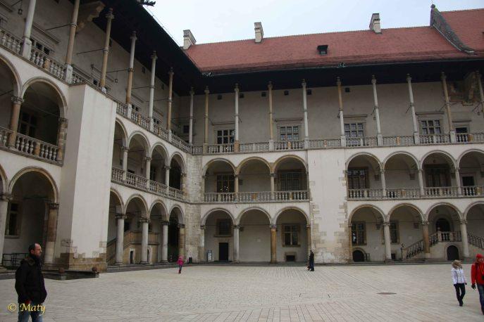 Inside the Wavel Castle