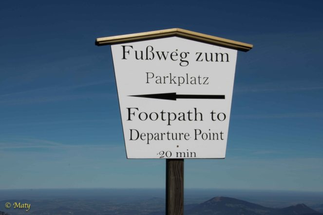 directions to the top