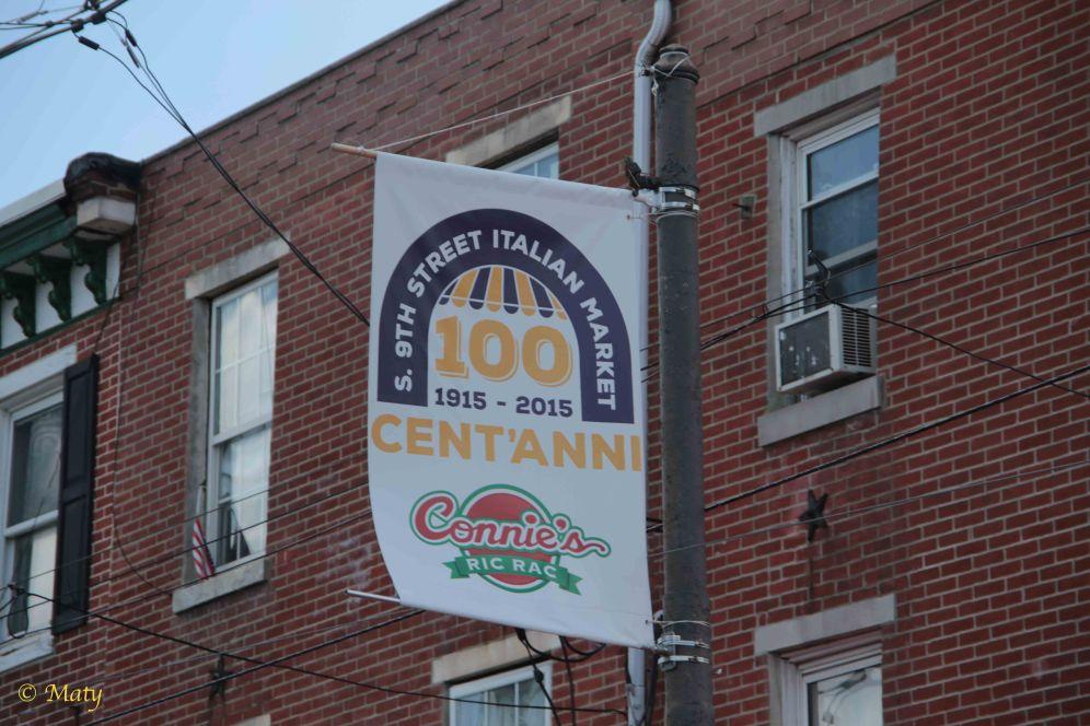 100 Years of Italian Market. It got smaller since 1993!
