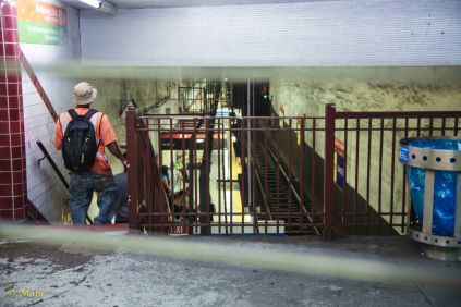 Entrance to the Broad Street Metro Line!