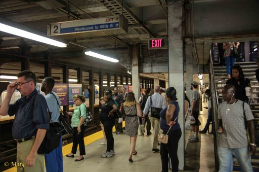 Little crowded but it is fun to experience the public transit in the City of Brotherly Love!