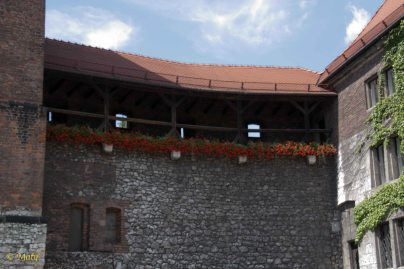 Fortifications at Wawel - they are open to public