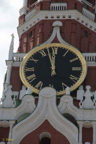 Clock at Spasskaya Tower
