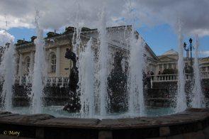 Fountain at Manezhnaya Street