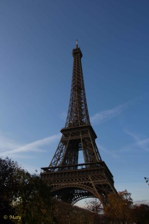 Eiffel Tower Champ de Mars