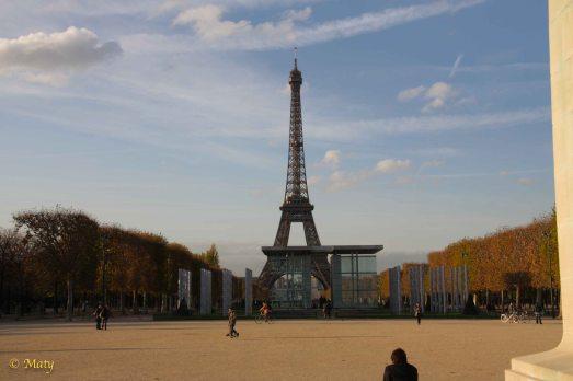 Eiffel Tower at Champ de Mars