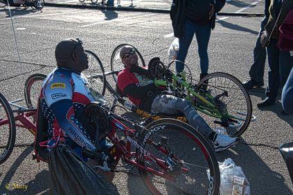 Hand-powered bikes are truly wonderful machines