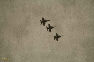 Three F-18s