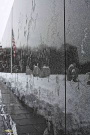 Korean War Veterans Memorial - reflection