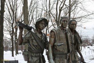 Vietnam Veterans Memorial - three brothers