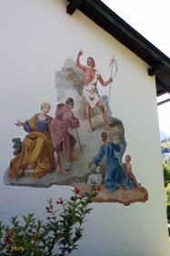 Garmisch-Partenkierchen - another religious mural