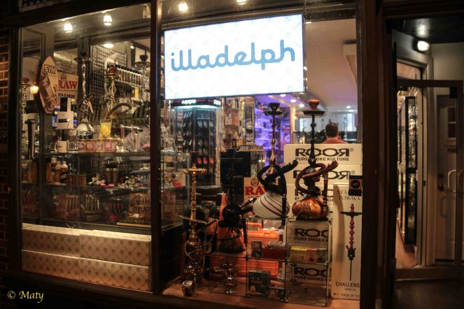 Hookah store at South Street in Philly