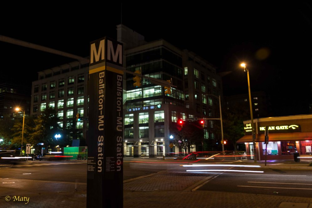 Ballston Metro Station