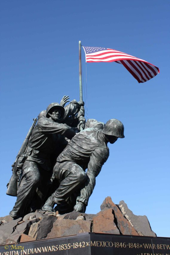 Memorial for all Marines