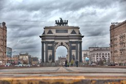 Triumphal Arch of Moscow - celebrating the victory over the Napoleon