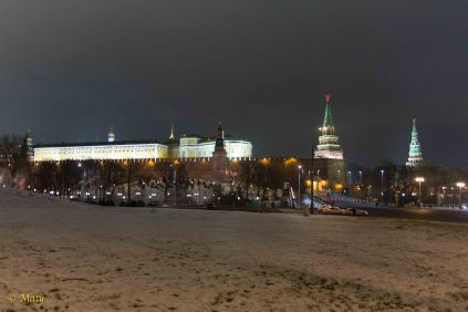 The Armory Chamber and Borovitskaya Tower