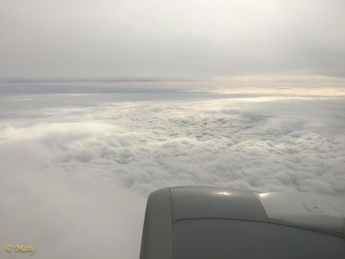 Again window seat - love the clouds