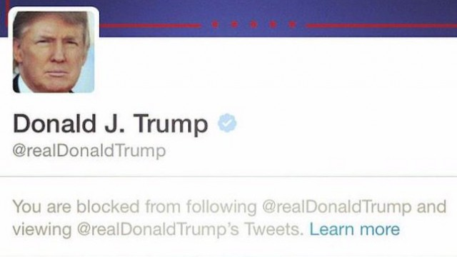 Image result for President Trump officially sued for blocking people on Twitter