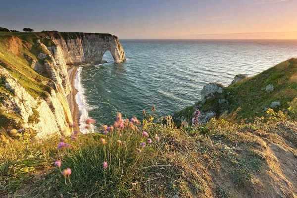 Felsbogen Etretat Bretagne