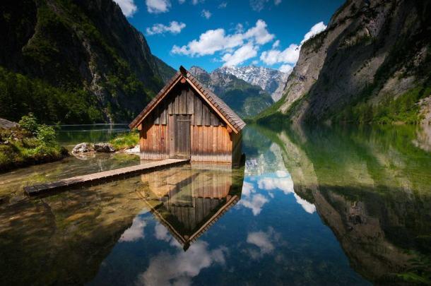 Bootshaus Obersee - Berchtesgadener Land