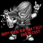 Happy Metal New Year