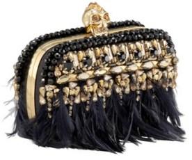 Or I should say: Alexander McQueen's Skull box clutches