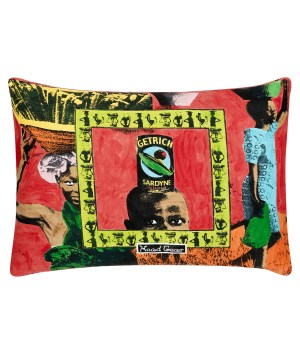 Red African Cushions