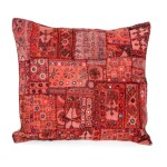 tribal embroidered cushion cover
