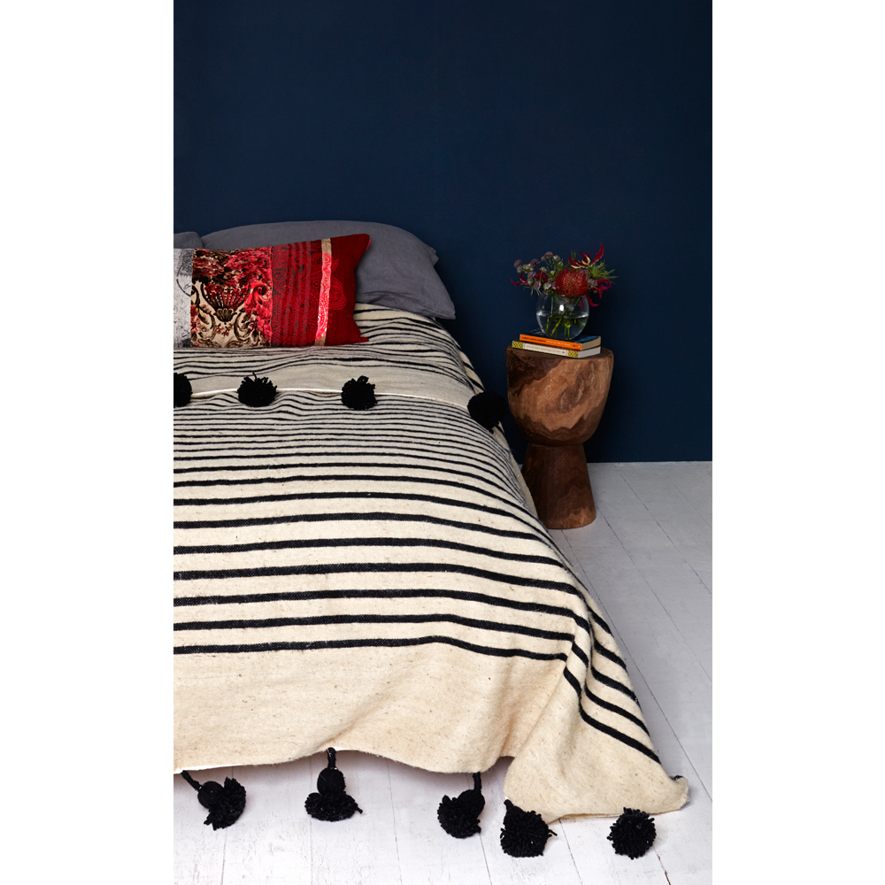 Moroccan throws