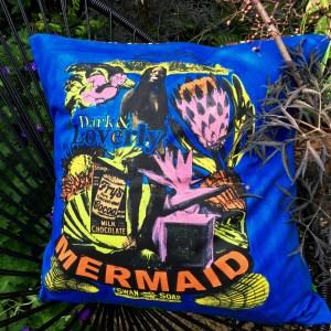 hand printed cushions