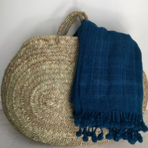 hand woven wool throw