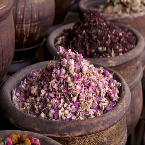 Dried rosebuds Marrakech