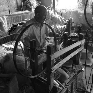 hand-woven blankets