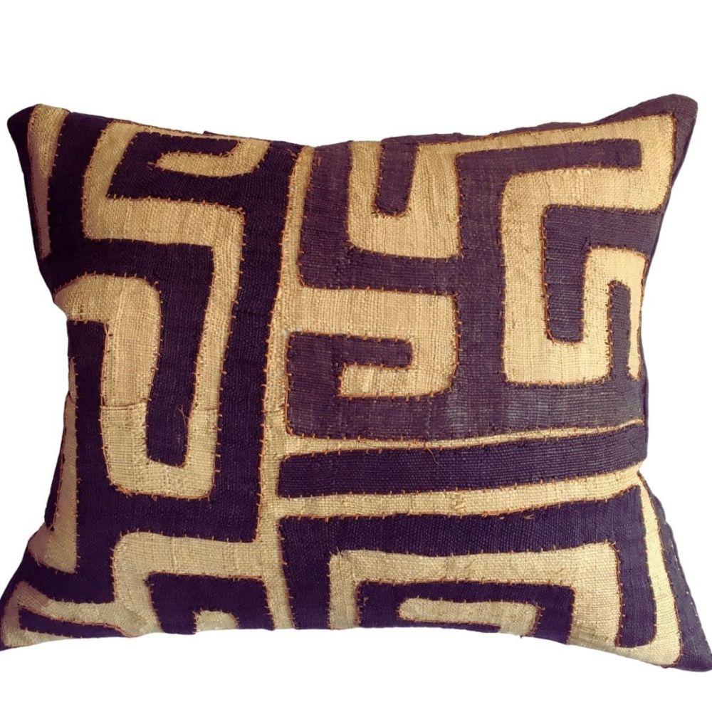 vintage kuba cloth cushions