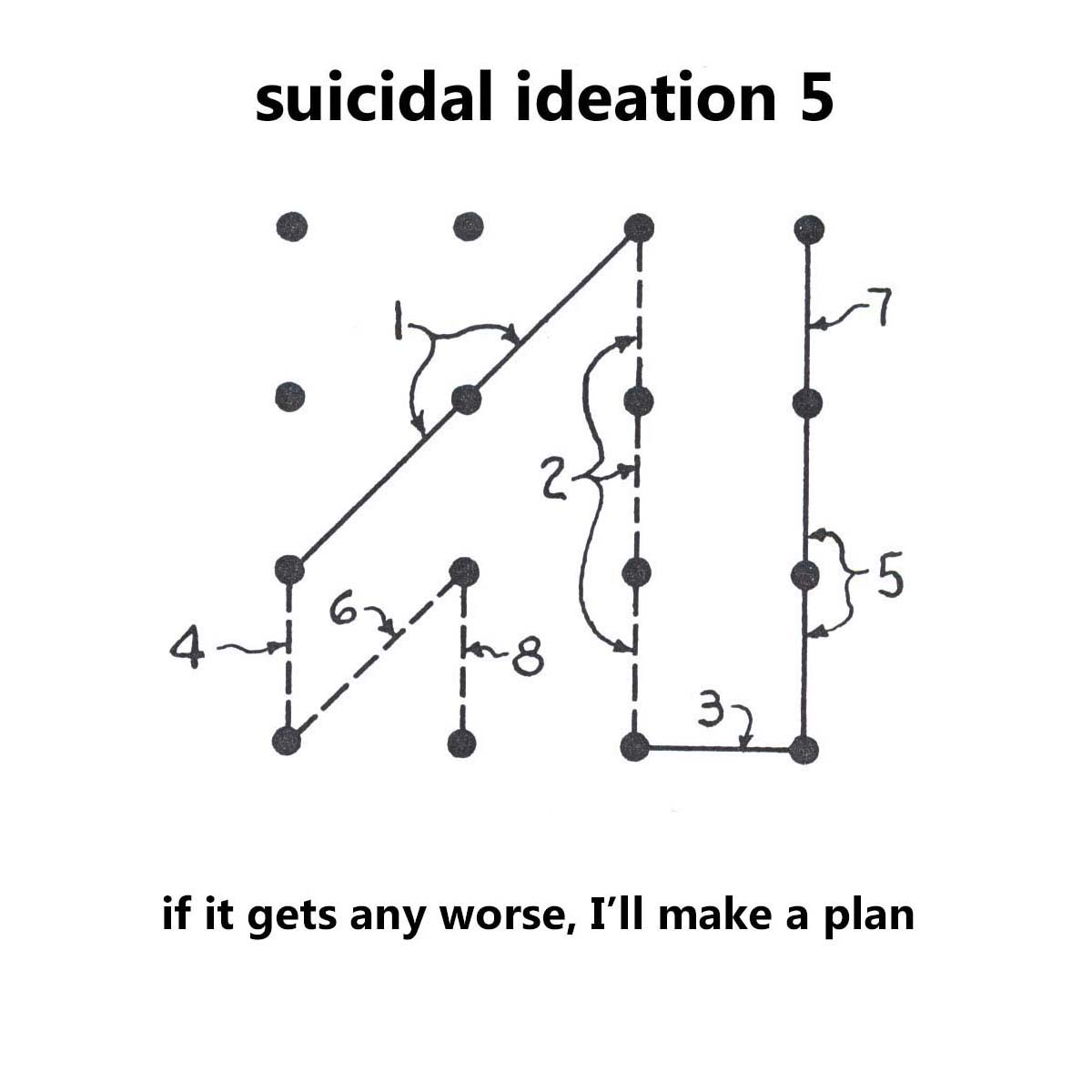 Diagram Poems Week 12 Suicidal Ideation Maudlin House