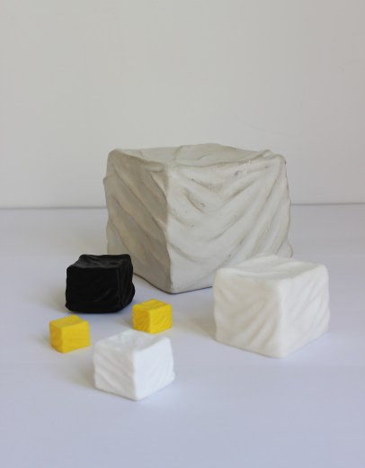 UBIQUITOUS CUBES, 2014, variable dimensions.