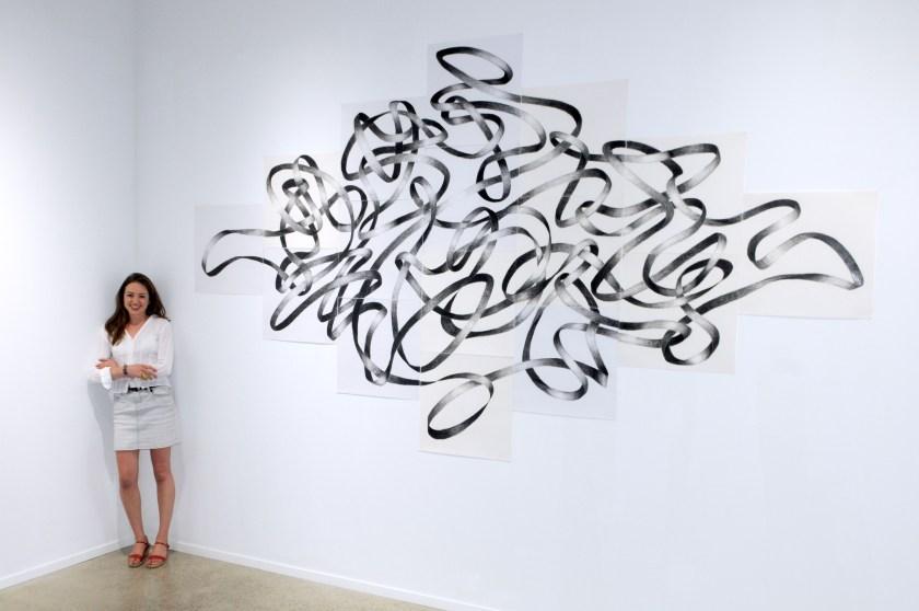 SERPENTINE + Maud, 2014, Galerie Samuel Lallouz, Montreal, photo: Jordan Lallouz.