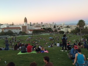 Dolores Park Mission district