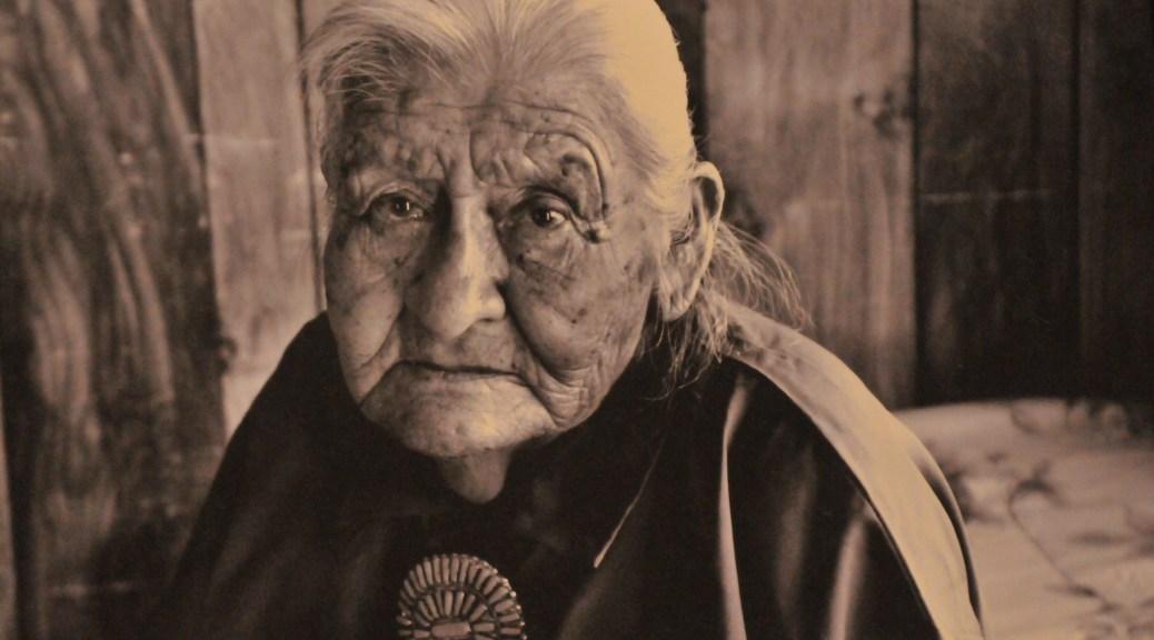 vieille femme Navajo