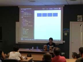 Darío Balbontín en WordCamp Sevilla 2016