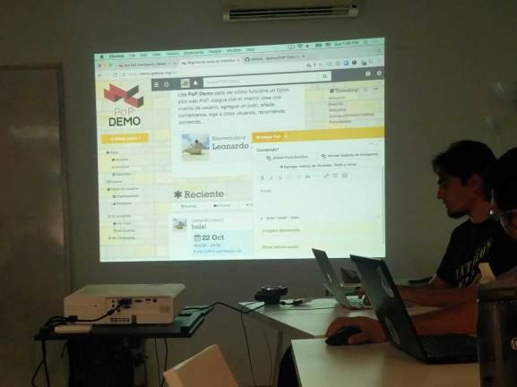Leonardo Losoviz en el Contributor Day de la WordCamp Sevilla 2016