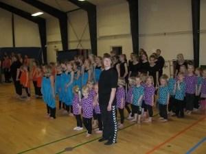 Gymnastik opvisning 2014