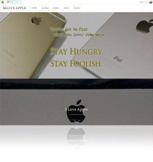 MAUI'S APPLE site