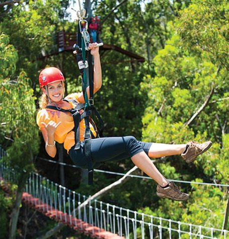 Enjoy an exciting adventure on this Canopy Course Zipline in Maui