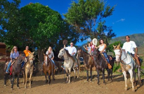 Lahaina Stables sunset ride