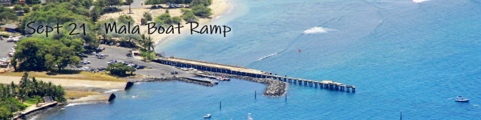 Mala Boat Ramp cleanup on Sept 21