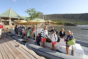 Manele Harbor on Lanai, Lanai snorkel trip