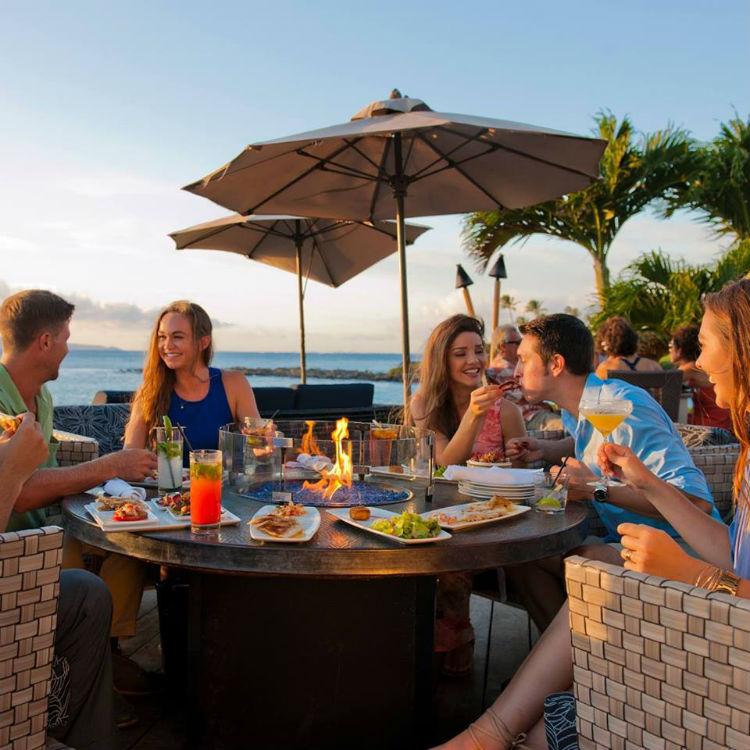 merrimans lahaina happy hour - maui happy hours - best happy hours in lahaina and kaanapali