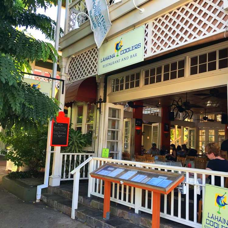 happy hour lahaina coolers bar dickenson street lahaina maui hi
